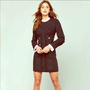 Bebe Bustier Winter dress